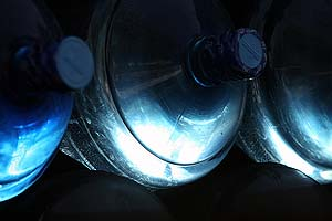 water bottles — bottled water